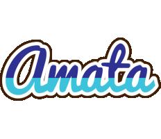 Amata raining logo
