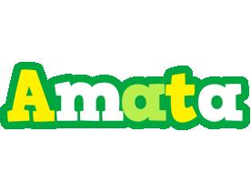 Amata soccer logo