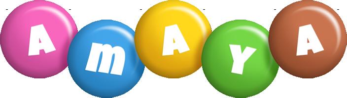 Amaya candy logo