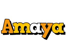 Amaya cartoon logo