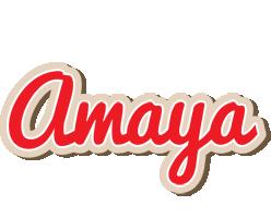 Amaya chocolate logo