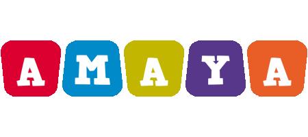 Amaya daycare logo