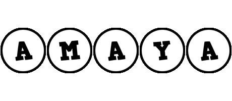 Amaya handy logo