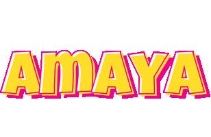 Amaya kaboom logo