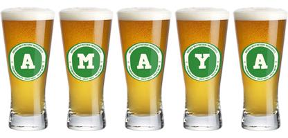 Amaya lager logo