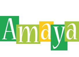 Amaya lemonade logo