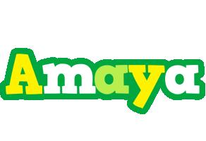 Amaya soccer logo