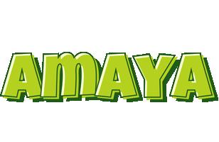 Amaya summer logo