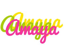 Amaya sweets logo