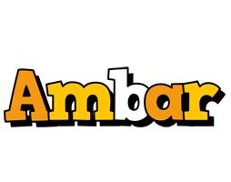 Ambar cartoon logo