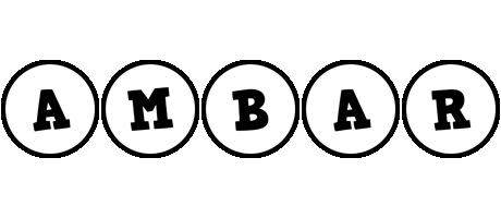 Ambar handy logo