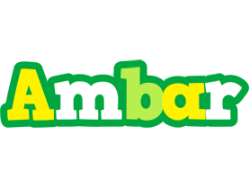 Ambar soccer logo