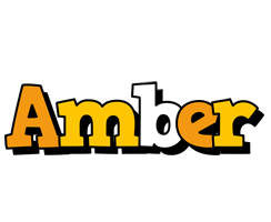 Amber cartoon logo