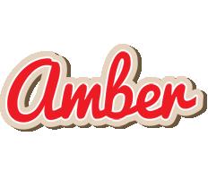 Amber chocolate logo