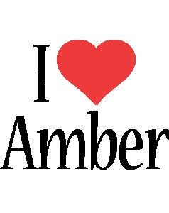 Amber i-love logo