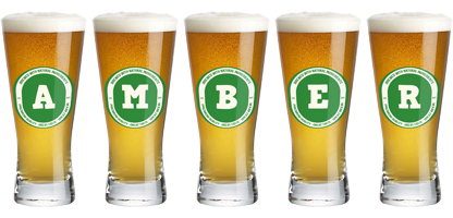 Amber lager logo