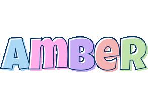 Amber pastel logo