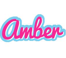 Amber popstar logo