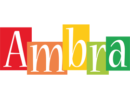 Ambra colors logo