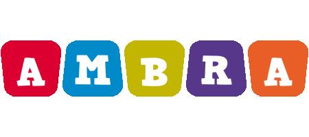 Ambra kiddo logo