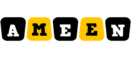 Ameen boots logo