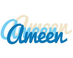 Ameen breeze logo
