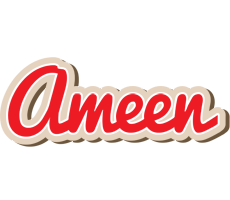 Ameen chocolate logo