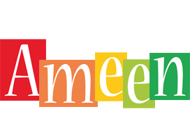 Ameen colors logo