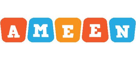 Ameen comics logo