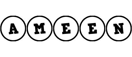 Ameen handy logo