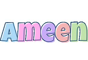 Ameen pastel logo