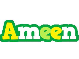 Ameen soccer logo