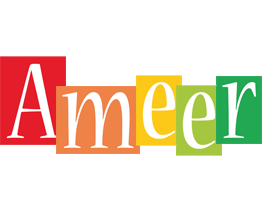Ameer colors logo