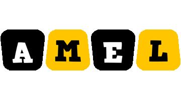 Amel boots logo
