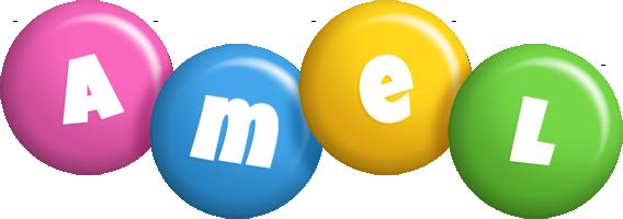 Amel candy logo