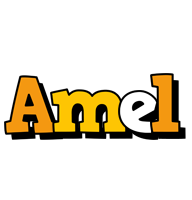 Amel cartoon logo