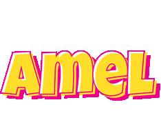 Amel kaboom logo