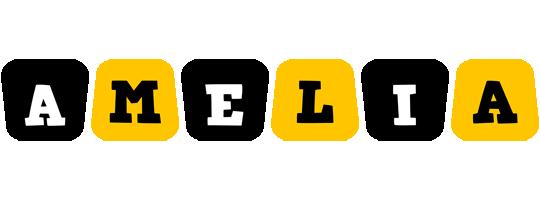 Amelia boots logo