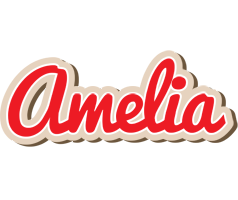 Amelia chocolate logo