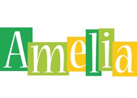 Amelia lemonade logo