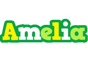 Amelia soccer logo