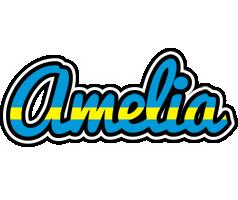 Amelia sweden logo