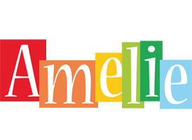 Amelie colors logo