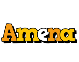 Amena cartoon logo