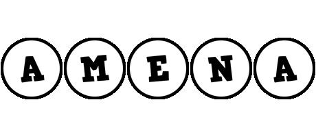 Amena handy logo