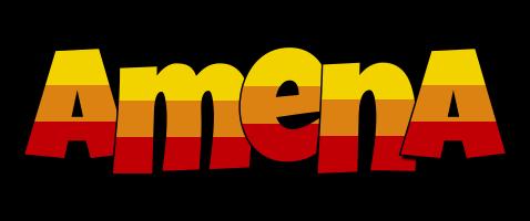 Amena jungle logo