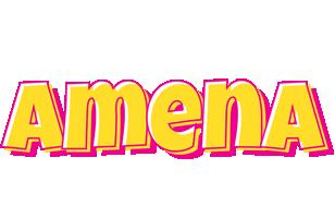 Amena kaboom logo