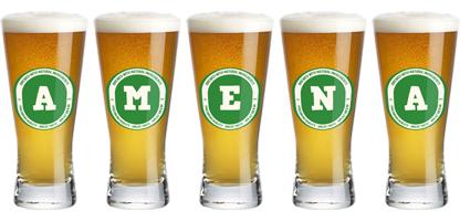 Amena lager logo