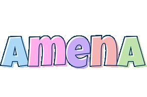 Amena pastel logo