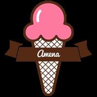 Amena premium logo